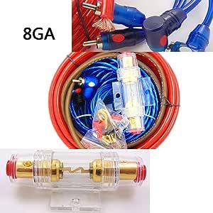 Auto Audio Verkabelung Subwoofer 1500 W 8 Ga Verstärker Amp Verdrahtung Sicherungshalter Draht Kabel Kit