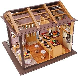 Fai DA TE per bambini in legno in miniatura casa delle bambole giocattolo Handcraft KIT adalelle/'s Room