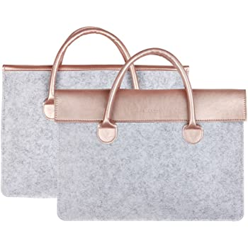 a7211f2a33f1 Laptop Case, Computer Sleeve Protective Bag Rose Gold Pattern 3 ...