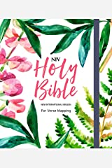 NIV Bible for Journalling and Verse-Mapping: Floral Hardcover