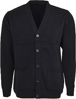 Henbury Mens V Lightweight Cardigan: Amazon.co.uk: Clothing
