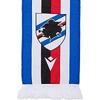 U.C. Sampdoria Sciarpa Macron Blucerchiata, blu