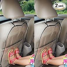 Autositz Rückenschutz, Schutz Autositz Rückenlehne Kinder für Kids Babys Dogs,1 Paar