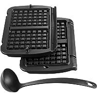 Tefal XA7238 OptiGrill    Piastra per waffle  colore  Nero