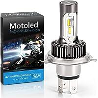 Camelight senza ventola Moto H4 LED Fari anteriori per Moto, 25W HS1, Sostituzione con lampada alogena H4 perfetta…