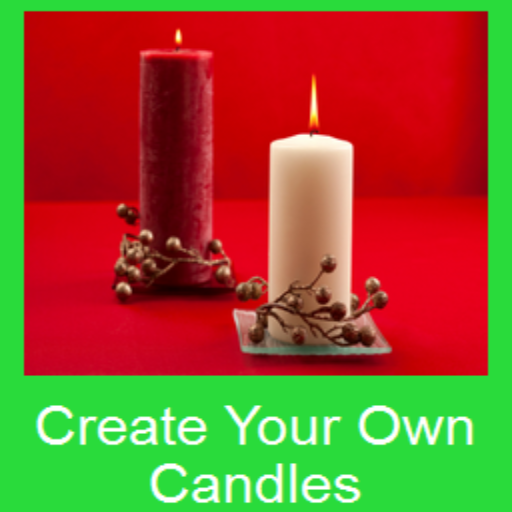 how to create your own candle