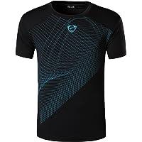 jeansian Uomo Sportiva Maniche Corte Maglietta Magliette Tee Shirt Tshirt T-Shirt Tops Dry Fit Tennis Golf Running…