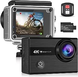 Icefox Action Cam 4k Unterwasserkamera Wasserdicht 40m Kamera