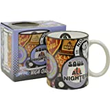 Pop Art Products Northern Soul Mug. Coffee Tea Cup. Cool Funky 70's Music Retro Stylish Gift