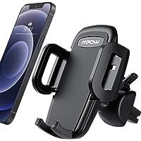 Mpow Supporto Smartphone per Bocchetta Dell'aria Auto con Morsetto Regolabile a 3 livelli, Rotazione di 360 Gradi…