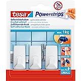 tesa Powerstrips Hooks S rectangular white
