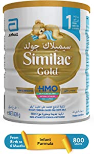 SIMILAC GOLD 1 HMO INFANT FORMULA MILK FOR 0-6 MONTHS - 800G