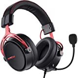 Mpow Air SE Cuffie Gaming 3,5 mm per PS4, PS5,Xbox One, PC, Switch Cuffie Over-ear con Audio Surround con Microfono con Cance