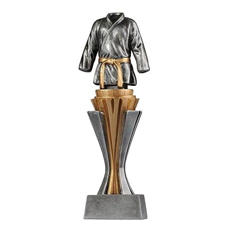M und L Troph/äe Kampfsport Judo Karate mit Sockel in Gold//Silber Gr/ö/ße S pokalspezialist Pokal