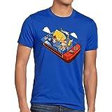 A.N.T. Crossing Pocket Camiseta para Hombre T-Shirt Switch Animal Videojuego Horizons