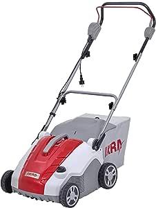 IKRA Elektro Vertikutierer Rasenlüfter IEVL 1738 Fangkorb 50l Arbeitsbreite 38cm Arbeitstiefe einstellbar 1.700W