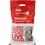 IFB Essential Descaling Powder For Top Load Washing Machine Front Load Washing machine_Dishwashers Pack Of 5(100x5=500Grams)