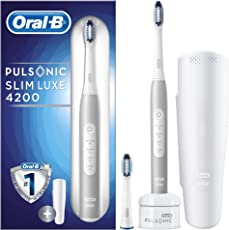 Oral-B Pulsonic Slim Luxe 4200 Reise-Edition elektrische Schallzahnbürste, 1er Pack