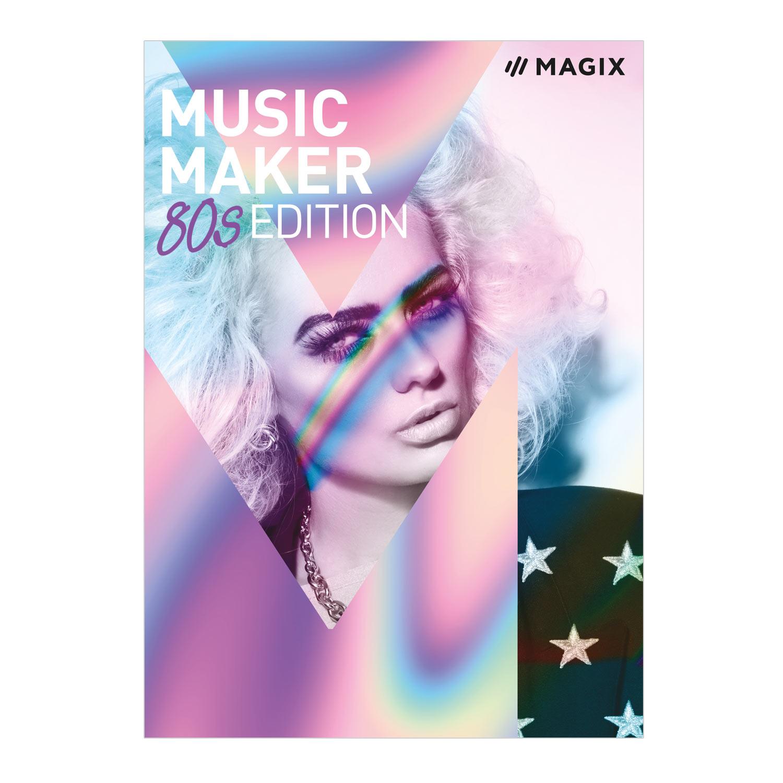 MAGIX Music Maker - 80s Edition - Das Musikprogramm für 80s-Beats und 80s-Musik. [Download]