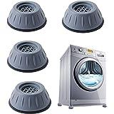 Patins anti-vibrations caoutchouc antidérapant, 4 Pièces Tampons À Pied Machine À Laver Anti Vibration Tampon, pieds de machi
