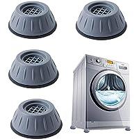 Patins anti-vibrations caoutchouc antidérapant, 4 Pièces Tampons À Pied Machine À Laver Anti Vibration Tampon, pieds de…