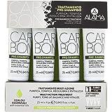 Alama Professional CARBON Trattamento Pre-Shampoo Riequilibrante - 4x25 Millilitri