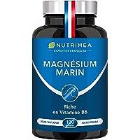 Magnésium Marin et Vitamine B6 | Combat Efficacement la Fatigue | 150 mg/jour | 120 Gélules d'Origine Végétale | 4 Mois…