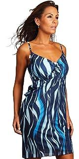 Saress Azure Beach Dress Cover Up Sarong Dress Top