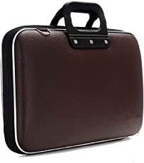 "Hi-MaK 15.6"" Brown Laptop Briefcase"