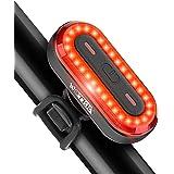 Luce Posteriore per Bicicletta Luci Bicicletta LED USB Ricaricabile - Fanalini Posteriori per Bicicletta Impermeabile Super L
