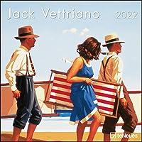 Jack Vettriano 2022 - Wand-Kalender - Broschüren-Kalender - 30x30 - 30x60 geöffnet - Kunst-Kalender