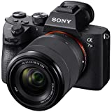 Sony Alpha A7 III Full-Frame Professional Camera 35mm sensor with SEL2870 Interchangeable Lens, 24.2 Megapixels - Black (ILCE