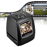 DIGITNOW! Scanner de Diapositives et Négatifs 35 mm,5MP/10MP Film et Diapo Convertisseur avec 2,4''LCD - Pas d'ordinateur Requis