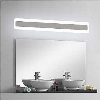 Sehr Gut Badewanne Spiegel Lampen lisafeng Badezimmer Spiegel vorne Licht  PE78