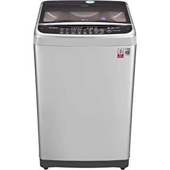 LG 8.0 kg Inverter Fully-Automatic Top Loading Washing Machine (T9077NEDLY.AFSPEIL, Free Silver)