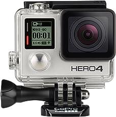 GoPro HERO4 Silver Adventure Actionkamera (12 Megapixel, 41,0 mm x 59,0 mm x 29,6 mm)
