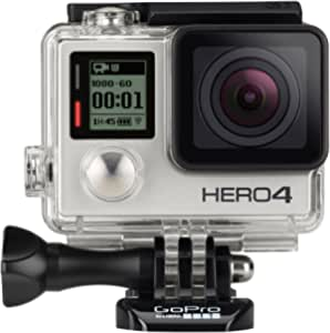 Gopro Hero4 Hero 4 12mp Full Hd 4k 15fps 1080p 60fps Integriertes Wi Fi Wasserdicht Tragbare Kamera Silver Adventure Edition 32 Gb Heimkino Tv Video
