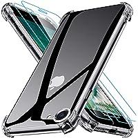 Joyguard Coque Compatible avec iPhone Se 2020, iPhone 8, iPhone 7 avec 2 Verre trempé Protection écran - 4.7 Pouces…