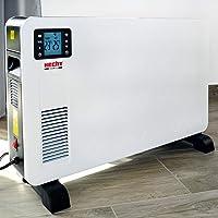 Hecht Elektroheizung (Brandneue Version 2020) - Heizgerät für eine schnelle und wohlfühlende Wärme – Stromsparend - Mit…
