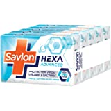 Savlon Hexa Advanced Germ Protection Bathing Soap, 125g (Buy 4 Get 1 Free)