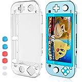 HEYSTOP Coque Compatible avec Nintendo Switch Lite, Étui Nintendo Switch Lite avec Protection Écran Verre Trempé avec 6 Poign