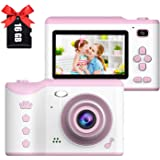Cámara Digital para niños, 1080P HD Video Cámara Selfie Mini Cámara de Fotos Digitales para Infantil Recargable 2.8 Pulgadas