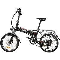 ANCHEER 20 Zoll E-Bike Pedelec Elektrofahrrad mit Lithium-Akku (36V 8Ah 288Wh), Faltbares Elektrisches Fahrrad mit 250…