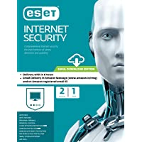 ESET Internet Security - 2 Devices, 1 Year (Email Delivery in 2 Hours- No CD)