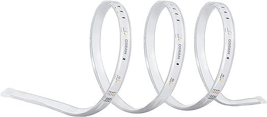 Osram Smart+ ZigBee RGB LED Strip Outdoor Streifen, Warmweiß, tageslicht (2000K - 6500K), dimmbar, Länge 5m, Alexa kompatibel