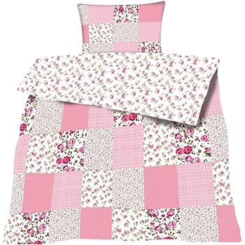 Bettwasche Baumwolle Patchwork Print 2 Teilig Garnitur 135x200 80x80