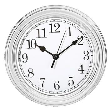 Wanduhr Küchenuhr Uhr Nostalgie Landhaus antik Classic Büro 22 cm ...