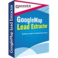 Shivex Google Map Data Extractor tool for Bulk Customer Data | Useful for Digital Marketing and Lead Ggeneration | No…