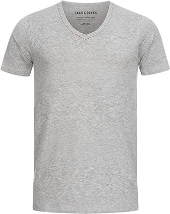 Jack & Jones Men's Basic V-Neck Tee S/S Noos T-Shirt