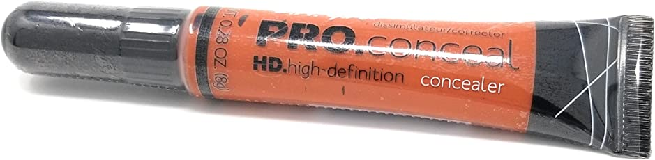 L.A. Girl Pro Coneal Hd. High Definiton Concealer 0.25 Oz #990 Orange